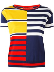Hilfiger Collection Color Block Stripe Jumper