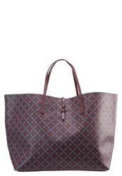 By Malene Birger Grinolas Tote Bag Bordeaux Petrol