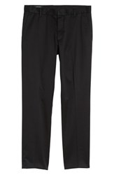 Nordstrom 'S Men's Shop Athletic Fit Non Iron Chinos Black Caviar