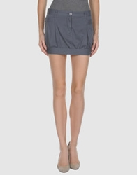 Lupattelli Mini Skirts Grey