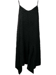 Christian Wijnants Dista Asymmetric Hem Dress Black