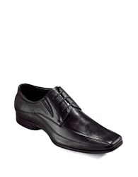 Kenneth Cole Reaction Field Note Lace Up Loafers Black