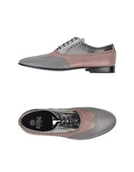 Enrico Fantini Lace Up Shoes Light Grey