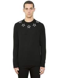 Givenchy Star Patches Wool Sweater