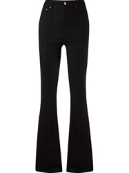 Amapa High Waist Flared Jeans Black