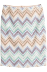 Missoni Zigzag Print Pencil Skirt