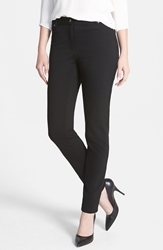 Vince Camuto Skinny Ponte Pants Regular And Petite Rich Black