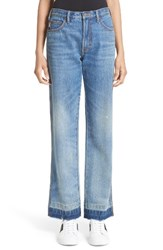 Marc Jacobs Women's Relaxed Release Hem Jeans