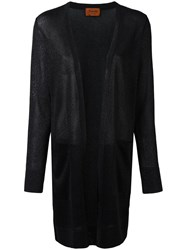 Missoni Long Cardigan Black