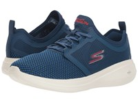 Skechers Performance Go Run Fast 55102 Navy Red Shoes Multi