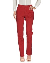 Authentic Original Vintage Style Casual Pants Red