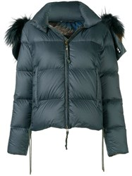Mr And Mrs Italy Tassel Detailed Puffer Jacket Green