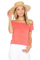 Chaser Boho Tee Coral
