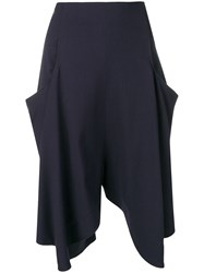 J.W.Anderson Jw Anderson Flared Shorts Blue