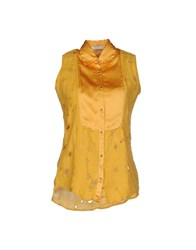 Aglini Shirts Shirts Women Yellow