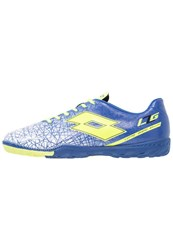 Lotto Lzg Viii 700 Tf Astro Turf Trainers Royal Yellow Safe Blue