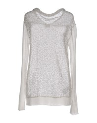 Anna Rachele Jeans Collection Sweaters Ivory