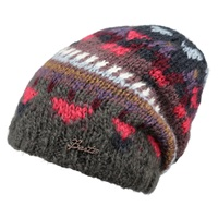 Barts Iris Beanie One Size Brown Multi