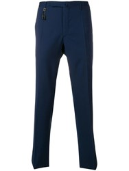 Incotex Classic Tailored Trousers Blue