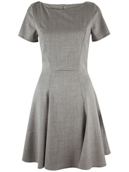 Almari A Line Panel Dress Grey