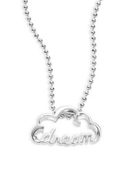 Alex Woo Sterling Silver Dream Necklace