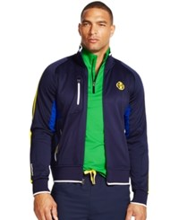Polo Ralph Lauren Paneled Track Jacket French Navy