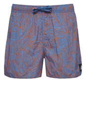 Adidas Performance Swimming Shorts Core Blue Easy Coral
