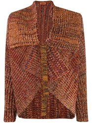 Missoni Knitted Asymmetric Tied Cardigan 60