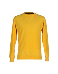 People Topwear Sweatshirts Men Yellow