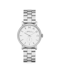 Marc By Marc Jacobs Baker 33Mm Silver Tone Stainless Steel Women's Watch