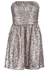 Morgan Restin Cocktail Dress Party Dress Argente Silver