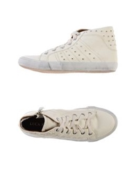 Luca Stefani High Tops And Trainers Ivory