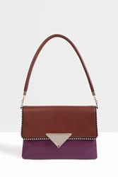 Sara Battaglia Isabelle Tri Colour Bag Brown