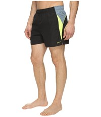 Nike Swift 4 Volley Shorts Black Men's Swimwear