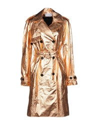 Wanda Nylon Overcoats Copper