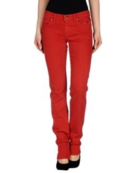 Jeckerson Denim Pants Red