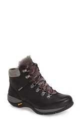 Dansko 'Chelsey' Waterproof Hiker Boot Women Black Burnished Nubuck
