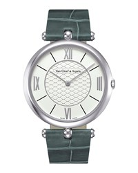 Pierre Arpels White Gold Watch 42Mm Van Cleef And Arpels Grey