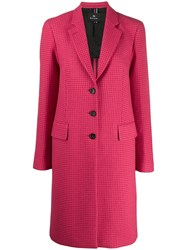 Paul Smith Ps Tweed Jacket Pink
