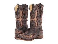 Corral Boots A3100 Chocolate Tan Men's Brown