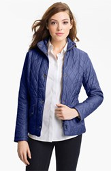 Barbour Women's 'Cavalry' Flyweight Quilt Jacket Indigo
