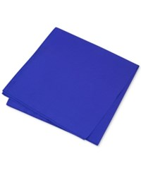 Club Room Men's Simple Solid Pocket Square Only At Macy's French Blue
