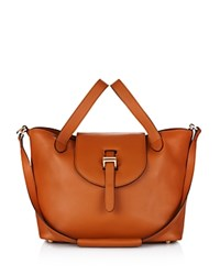 Meli Melo Medium Thela Zipper Tote Tan