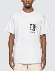 Brain Dead Invasion T Shirt White