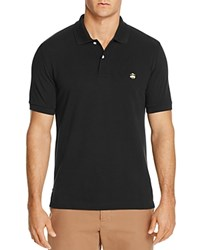 Brooks Brothers Slim Fit Pique Polo Shirt Black