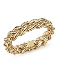 Bloomingdale's 14K Yellow Gold Braided Tubogas Bracelet