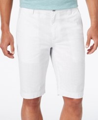 Inc International Concepts Men's Rogan Shorts Only At Macy's White
