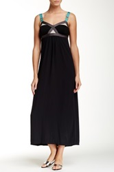Vpl Convexity Breaker Maxi Dress Black