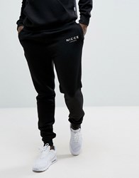 Nicce London Skinny Joggers In Black