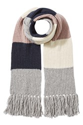 Closed Alpaca Wool Colorblock Scarf Multicolor